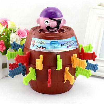 Lucky Stab Pop Up Game Toys Novelty Toy Tricky Pirate Barrel Game for Kids