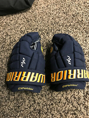 Warrior Ax1 Gloves - Pro Stock - St. Louis Blues