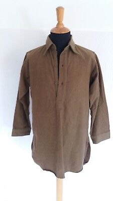 Ww2 British Collared Shirt, Nr Mint Unissued Condition 1945 Dated