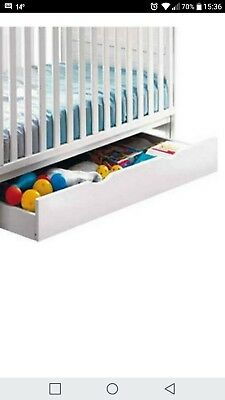 baby cot drawer on rollers