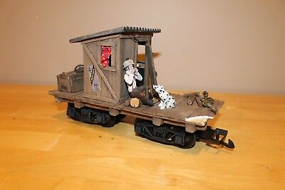 L.J.S. American Coach Works Outhouse Hobo Car - G Scale