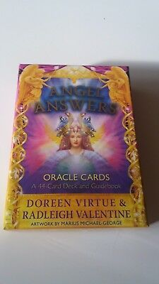 Doreen Virtue & Radleigh Valentine Angel Answers Oracle Cards