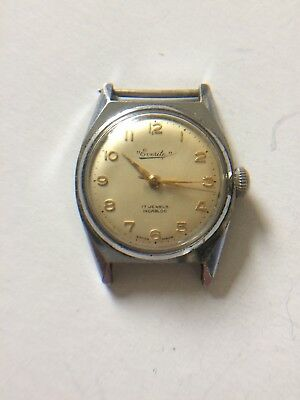 Vintage Everite wristwatch. Spares Or Repair