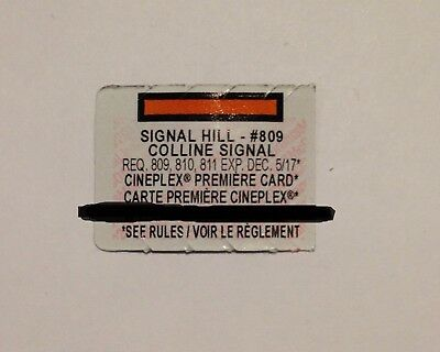 McDonalds Monopoly Canada 2017 - Signal Hill  #809 Sticker