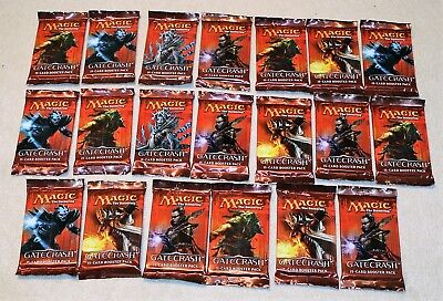 Magic the Gathering TCG, Gate Crash, 15-Card Booster Pack, 20 ST. ENGLISCH