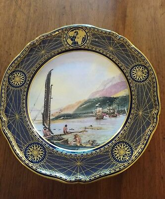 Spode Plate The Great Explorers Collection No 3 James Cook resolution adventure