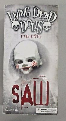 Living Dead Dolls Presents: SAW Billy The Puppet Doll Rare Mezco Toys Sealed