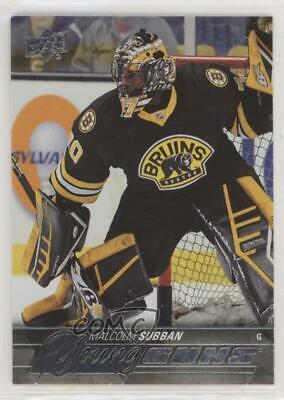 2015-16 Upper Deck Young Guns Malcolm Subban #211 Rookie