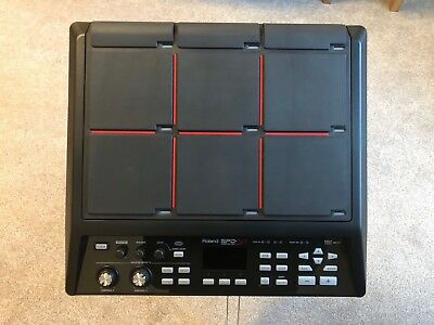 Roland SPD-SX Sampling Pad. Drum Pad With Stand & Power