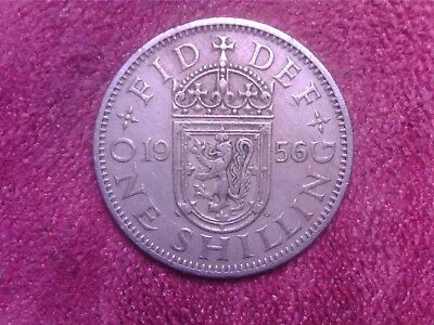 Great   Britain  One  Shilling  1956