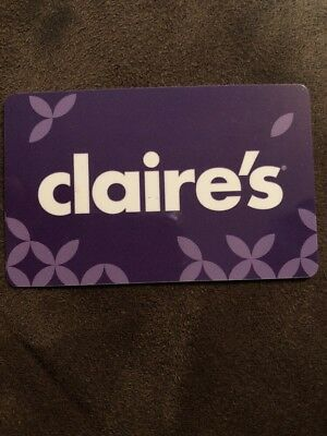 Claire's Gift Card $20