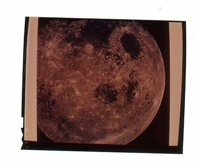 """*C586A VINTAGE 1960s 5"""" NASA SPACE GALAXY MOON PLANET SURFACE TRANSPARENCY PHOTO"""