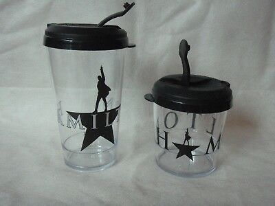 Hamilton American Musical Broadway Travel Cup 2 sizes theater