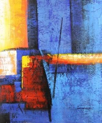 Modern Contemporary Abstract Painting Oil Painting on canvas - hand (P5p)