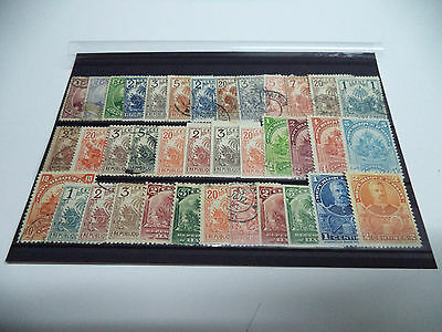 Collection 180+ stamps from the República d'haiti