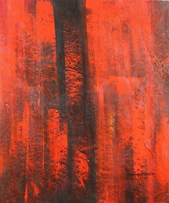 Modern Contemporary Abstract Painting Oil Painting on canvas - hand (h1p)