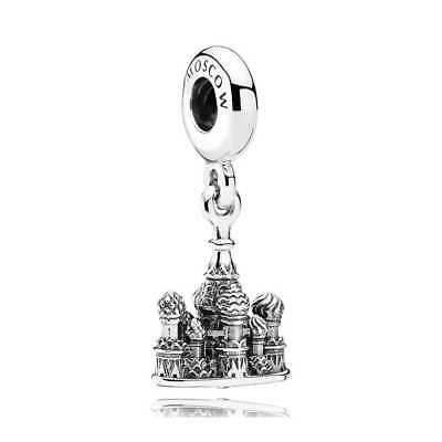 Authentic Sterling Silver Pandora St Basil Cathedral Moscow Dangle Charm 791141