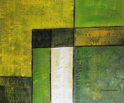 Modern Contemporary Abstract Painting Oil Painting on canvas - hand (q8A)