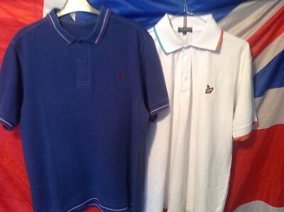 Fred Perry And Lyle And Scott Polo Shirts Size Xl