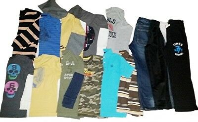 Lot of 14 - Boys Fall/Winter Lot - Sz 6-7 - NAME BRANDS