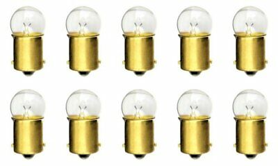 CEC Industries #81 Bulbs, 6.5 V, 6.63 W, BA15s Base, G-6 shape Box of 10