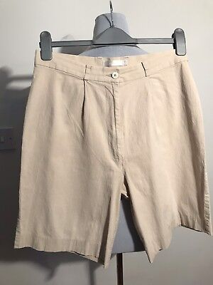 Ping Ladies Golf Shorts Beige Size 12