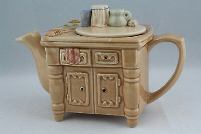 Rare Vintage Studio Pottery Collectable Kitchen Table Teapot Decorative Ornament