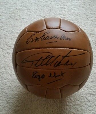 1966 world cup squad handsigned world cup football x 12