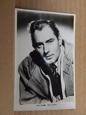 Film Star postcard Mike Wilding  Real Photo unposted