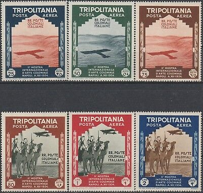 Air-Mail Stamps from Italian Colonies. 1934.