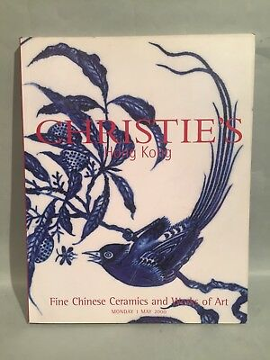 2000 May Christie's Catalog Fine Chinese Ceramics and Works of Art Hong Kong