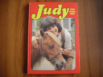 Judy For Girls - Annual 1981