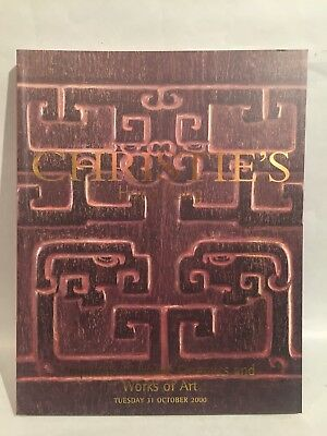 2000 Oct Christie's Catalog Important Chinese Ceramics and Works of Art HK