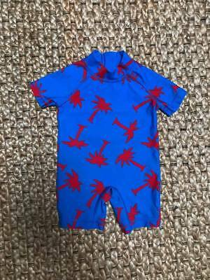 Lovely Baby Boy UPF 50+ Swimsuit - 3-6 months - Worn Once