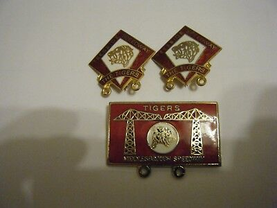 3  Teeside     Speedway   Enamel Badges   All In  Vgc      Reeves Badges