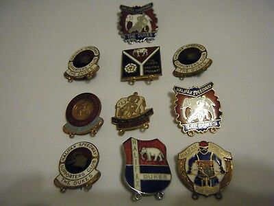 10  Halifax   Enamel Speedway Badges -   Vgc       Many Reeves  Badges