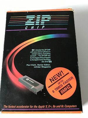 Boxed 8Mhz Zip Chip For Apple II Series
