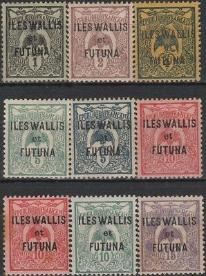 Very Old Stamps from French Wallis & Futuna.