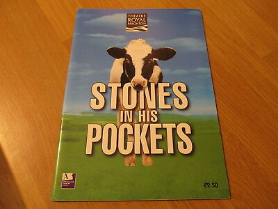 2000s Theatre Royal Brighton Programme for Co. Kerry Play 'Stones In His Pocket'