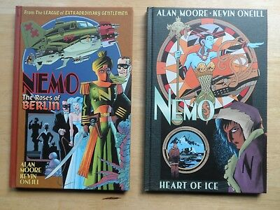 NEMO: Heart of Ice + The Roses of Berlin - HB Graphic Novels - Alan Moore/O'Neil