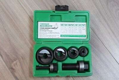 """Greenlee SlugBuster 7235BB Knockout Punch Kit 1/2"""" to 1-1/4"""" Conduit Size"""