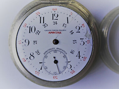 Grand Trunk Pacific Railway GTPR & American Canadian Pocket Watches 18s pre-1920