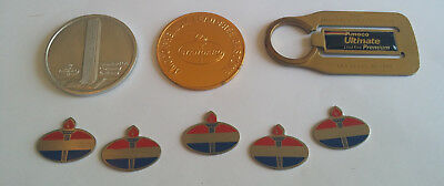 Amoco / Standard Oil Key Chain Coin Advertising Lot