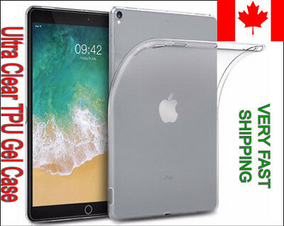 Ultra Clear Gel Case Cover for  iPad 7 2019 Air 1 2 3 4 5 MINI 2 3 4 Pro 12.9 11