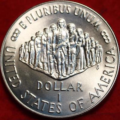 Uncirculated 1987 Philadelphia Mint Silver US Constitution $1 Free Ship