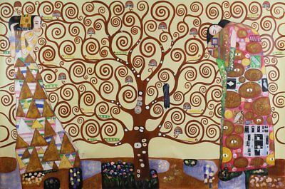 The Tree - Oil Painting on canvas - faithfully Reproducton of the work by (V5Q)