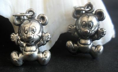 2pieces(pair) of chinese handmade miao silver bear ornament pendant (free S&H)