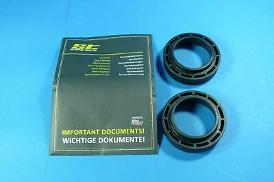 REAR SPRING SPACERS 0 25/32in REAR MERCEDES W204 All TÜV Certified