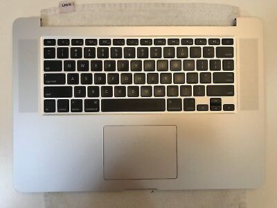 "MacBook Pro 15"" Retina A1398 2012 Early 2013 Keyboard Battery Trackpad Top Case"