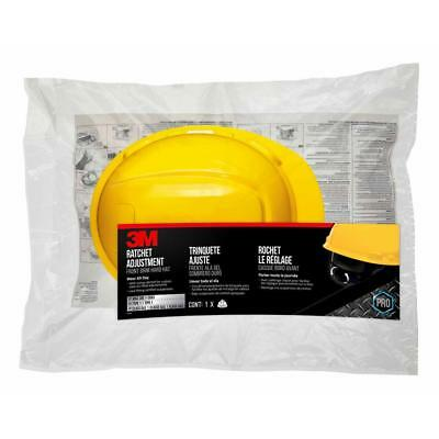 3M CHH-R-Y6 Yellow Non-Vented Hard Hat W/ Ratchet Adjustment